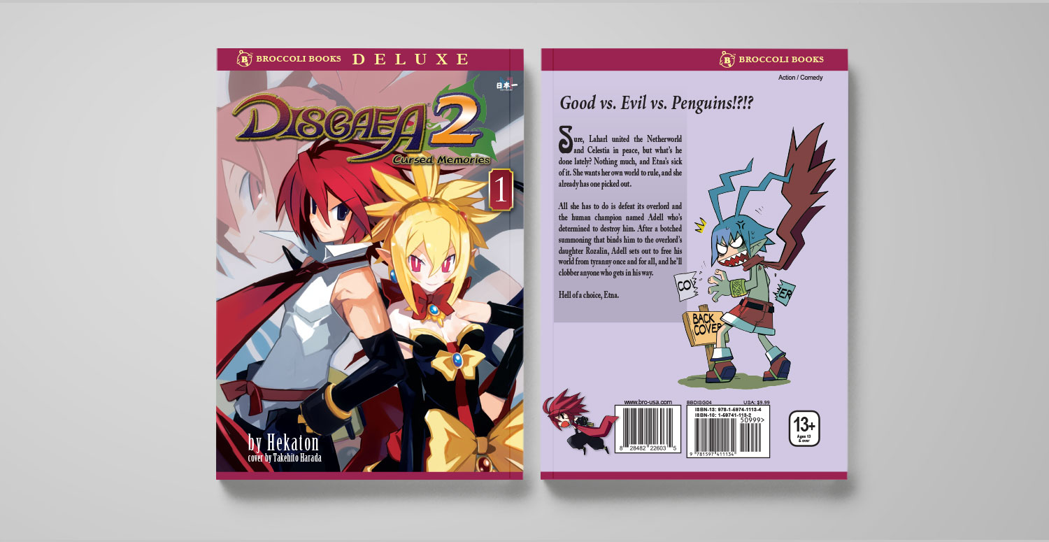 Disgaea 2 Vol. 1 cover