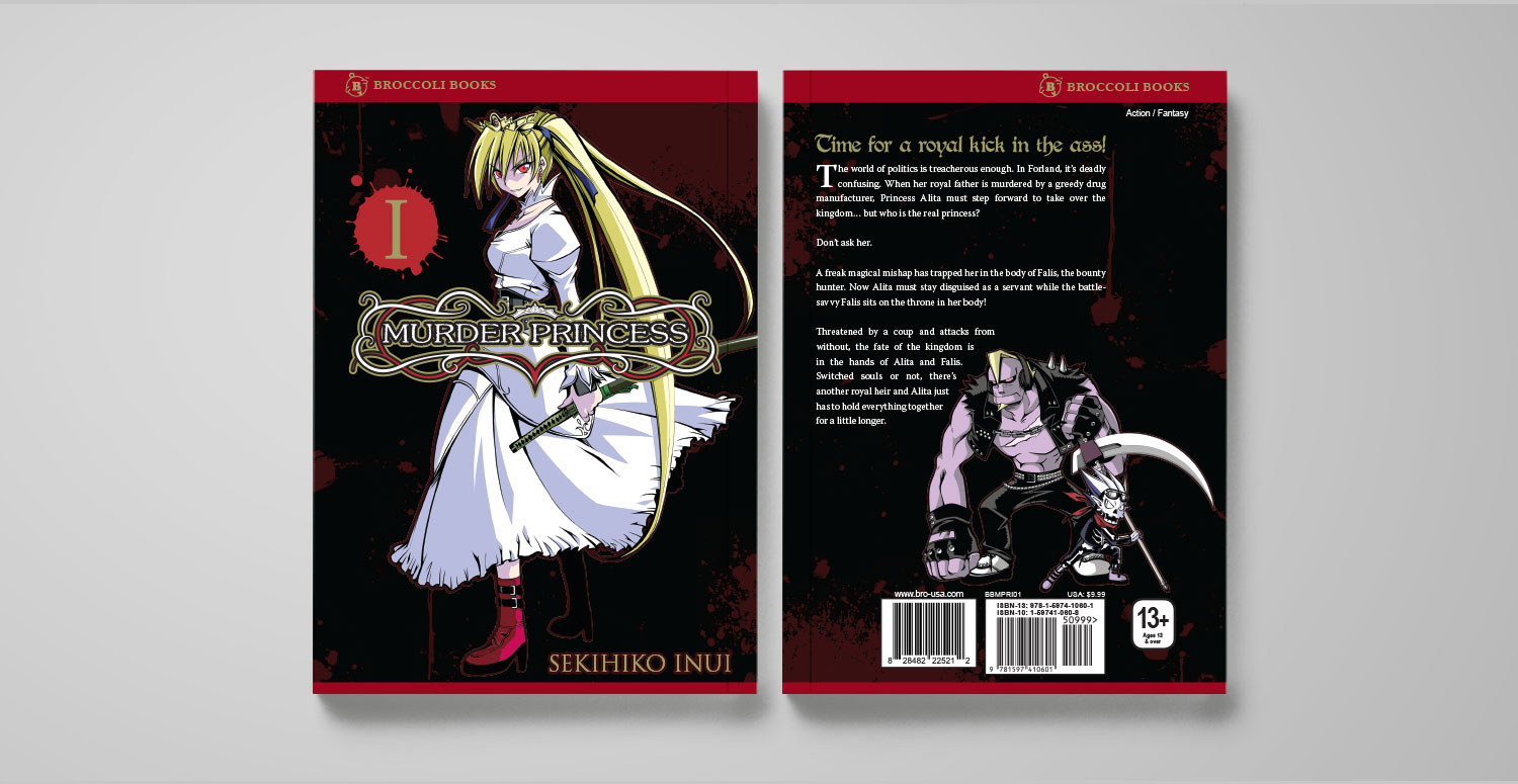 Murder Princess Vol. 1 cover