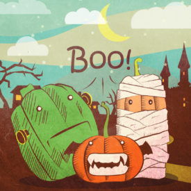 Earthwise – Halloween Campaign Program