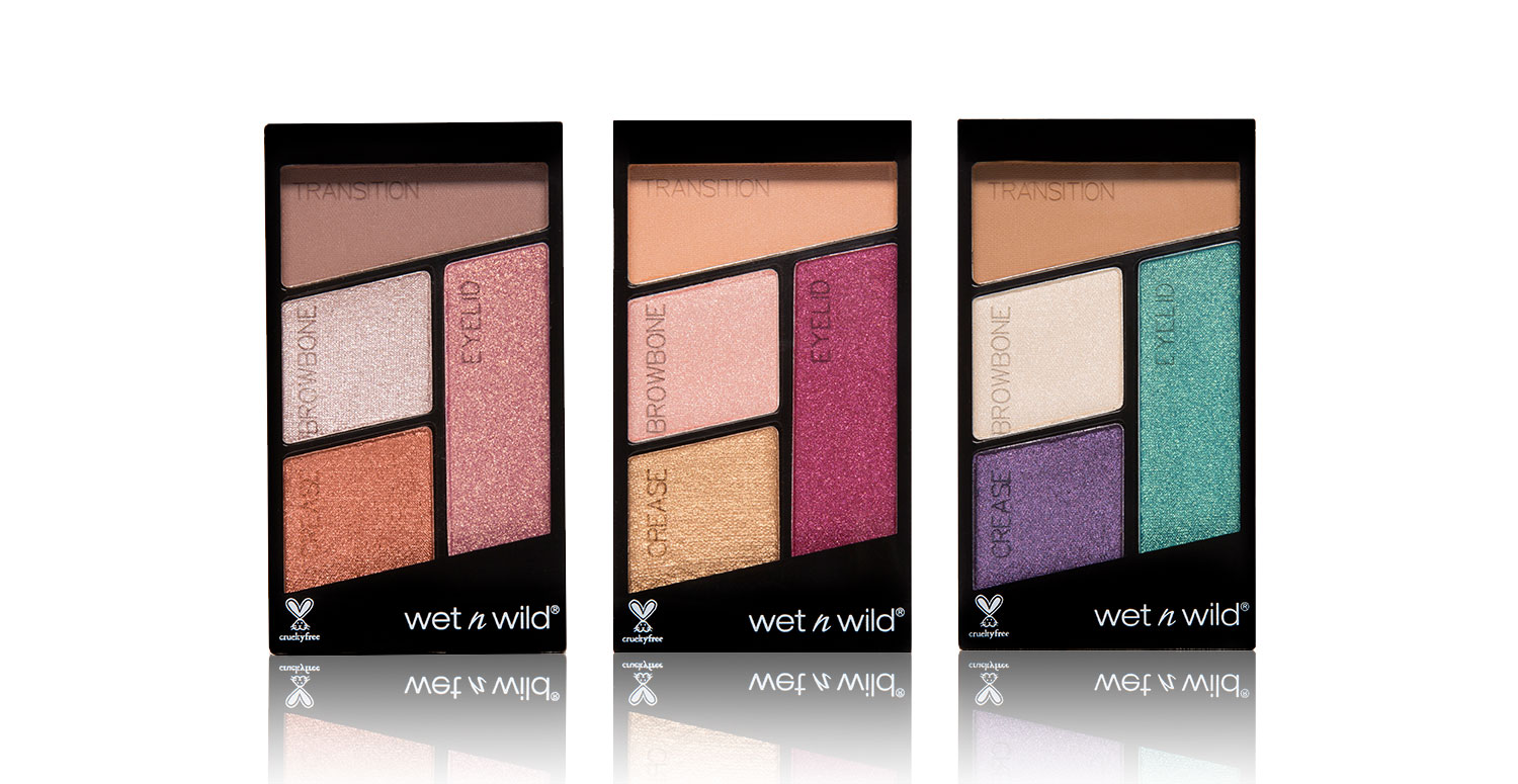 Color Icon Quad Eyeshadow Group Shot