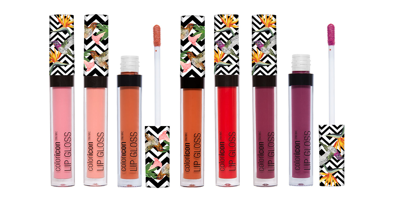 Color Icon Lip Gloss Group Shot
