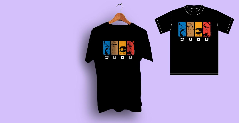 FLCL T-Shirt - Four Color Remix